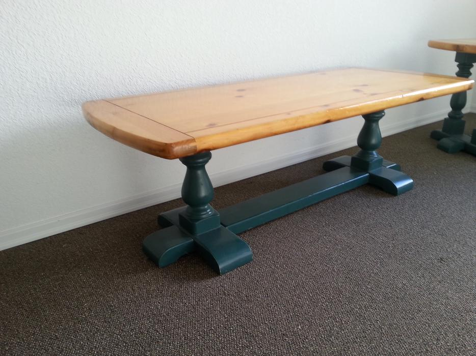 Pine coffee table with matching end tables great for Coffee tables kelowna