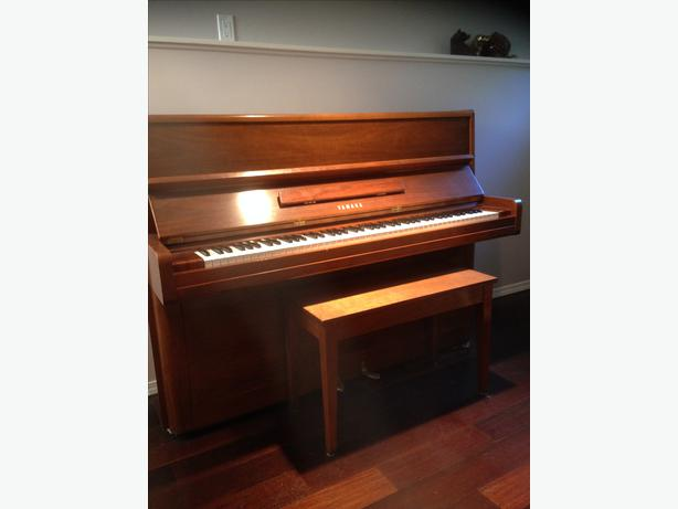 yamaha p2 upright piano oak bay victoria