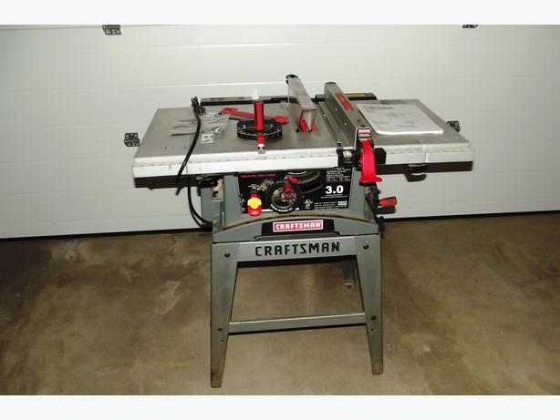 Craftsman 3hp Table Saw 3 Hp Craftsman Table Saw Espotted