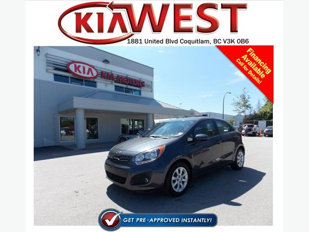 2013 Kia Rio5 LX+ with ECO
