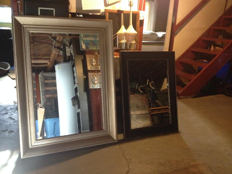 Large Wall Mirrors Beautiful Condition Victoria City