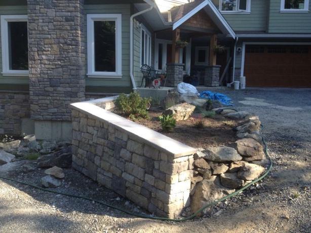 Keystone landscape solutions saanich victoria for Landscaping rocks windsor ontario