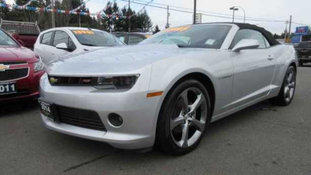 2014 chevrolet camaro lt rs convertible v6 automatic trans parksville nanaimo mobile. Black Bedroom Furniture Sets. Home Design Ideas