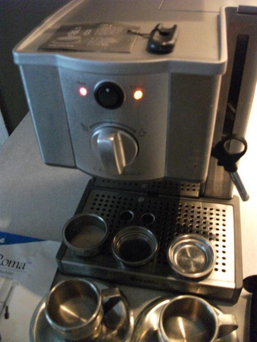 Breville Espresso Coffee Maker Model Esp8xl : Breville Cafe Roma Pump CappuccinoEspresso Machine, Delivered Victoria City, Victoria - MOBILE