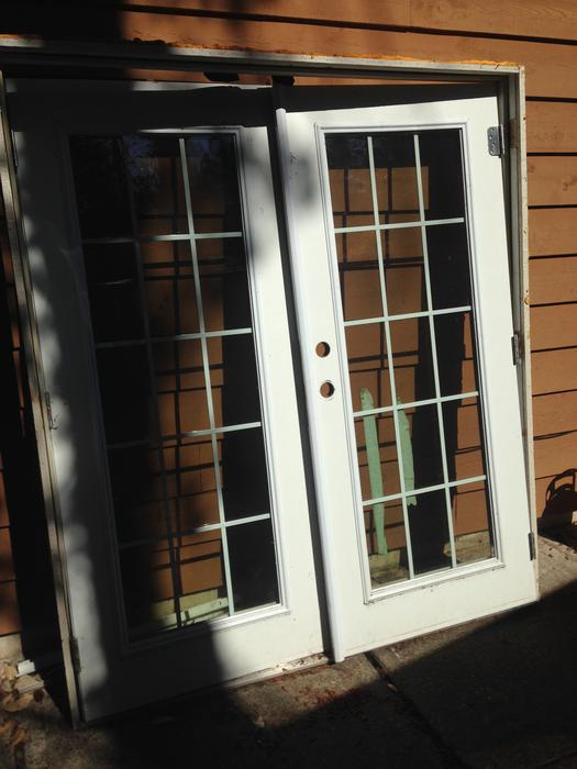 Exterior French Doors North Saanich Sidney Victoria Mobile