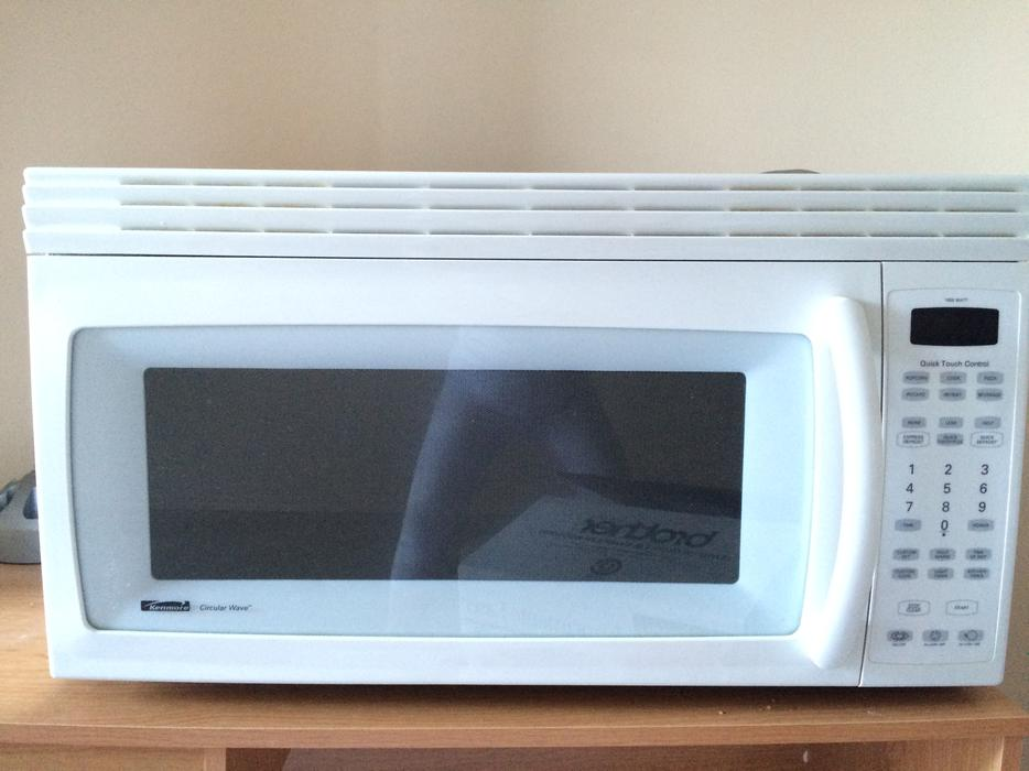 Kenmore over the range microwave saanich victoria mobile - Red over the range microwave ...