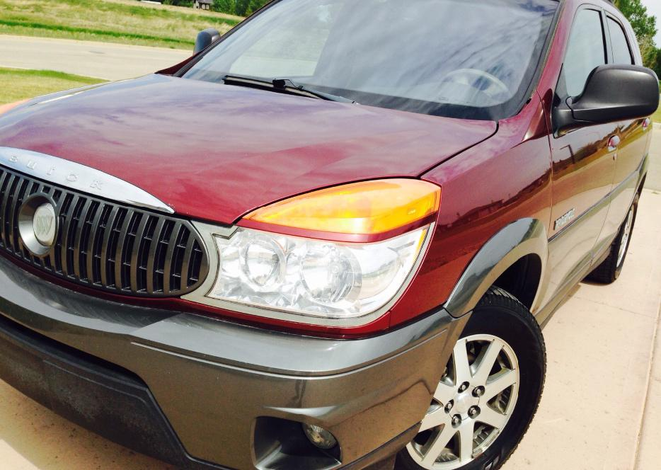 2003 Buick Rendezvous Cx In Houston Tx: 2003 Buick Rendezvous, CX, SUV, 8 Passengers, LEARHER