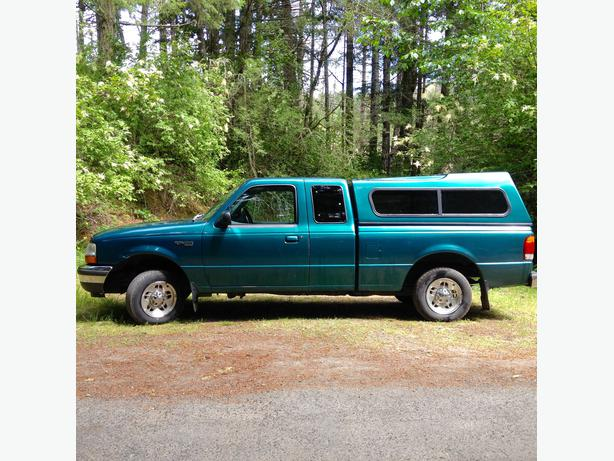 1998 ford ranger xlt extended cab 2wd with canopy west shore langford colwood metchosin. Black Bedroom Furniture Sets. Home Design Ideas