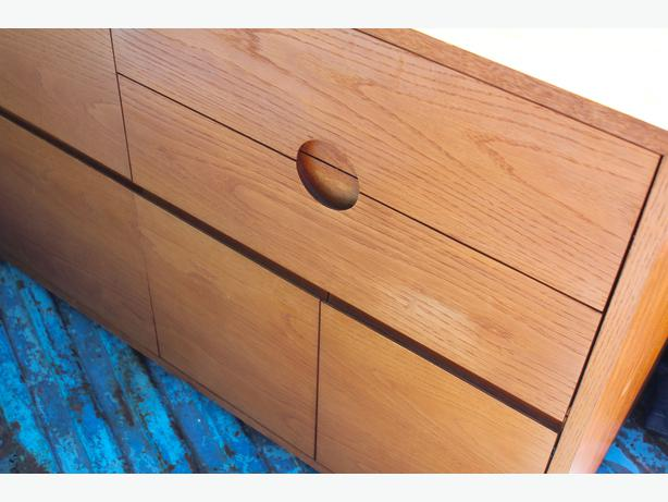 Teak Office Credenza With File Drawers Saanich Victoria