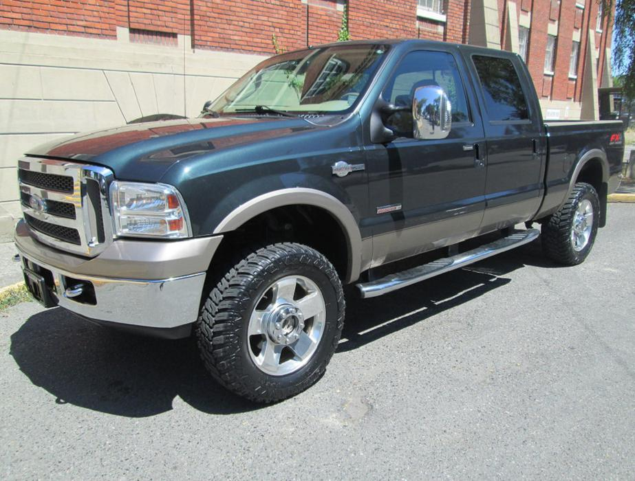 2006 ford f350 king ranch super duty fully loaded. Black Bedroom Furniture Sets. Home Design Ideas
