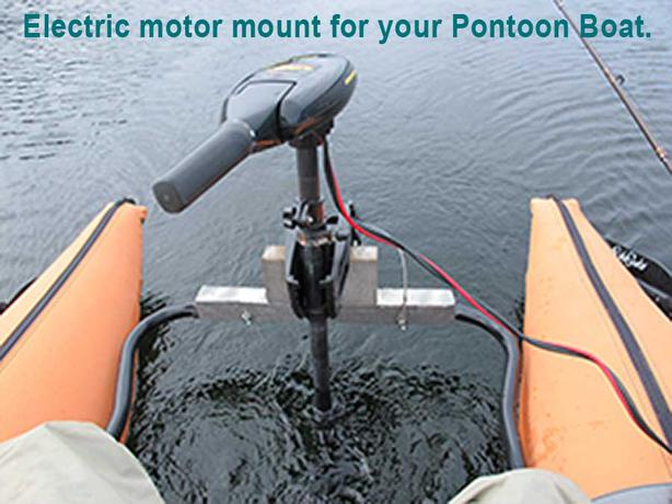 Motor mount for pontoon boat north saanich sidney victoria for Pontoon boat motor mount