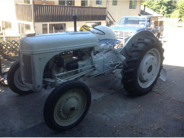 Ford 9n Restored : Ford n tractor west shore langford colwood metchosin