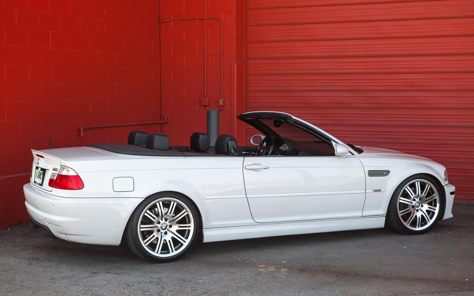Rare Manual Transmission Bmw M3 Cabriolet Outside