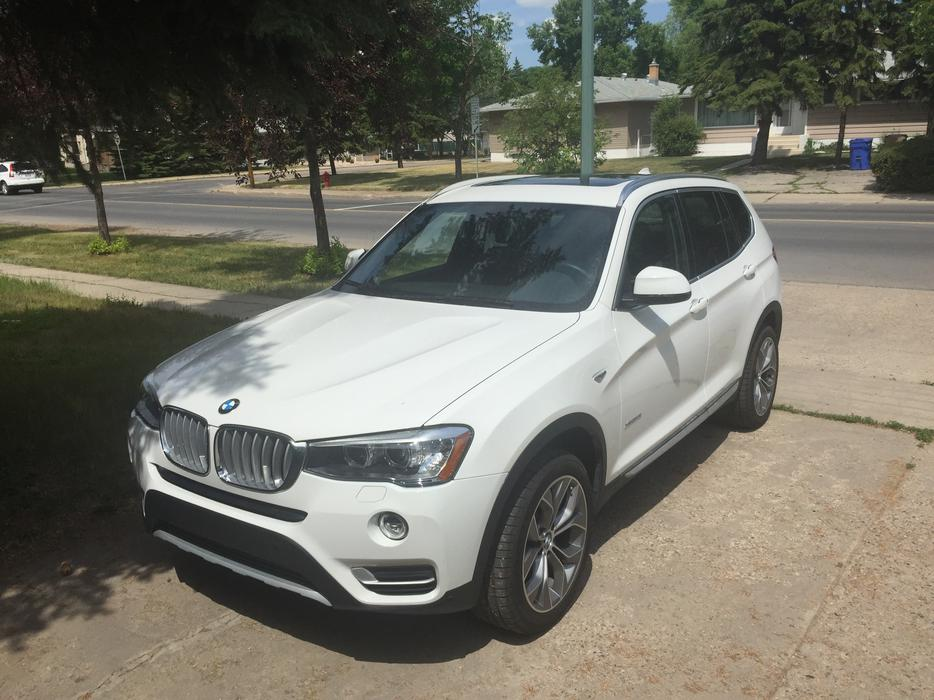 2015 bmw x3 28i xdrive for sale watch share print report ad south regina regina mobile. Black Bedroom Furniture Sets. Home Design Ideas