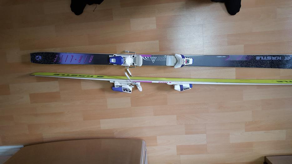 Like New Womens Kastle Skis With Geze Bindings Komperdell