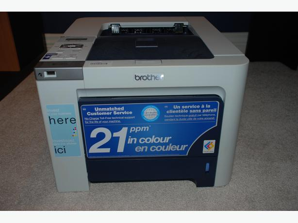 brother hl 4040cn laser colour printer brand new for sale coquitlam incl port coquitlam. Black Bedroom Furniture Sets. Home Design Ideas