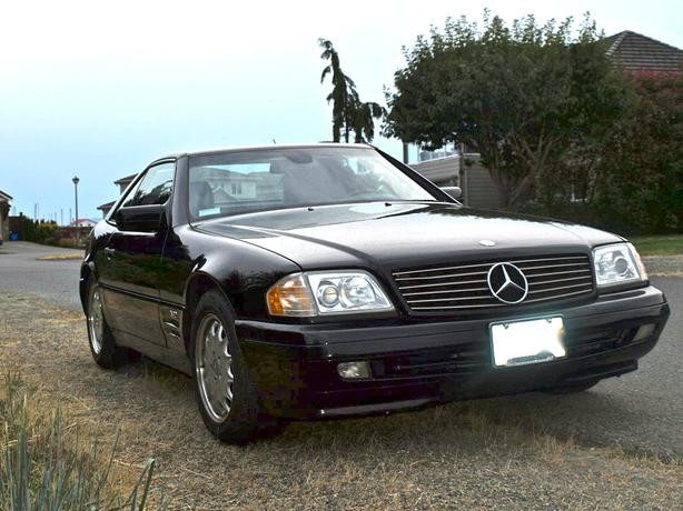 Immaculate mercedes benz sl600 v12 convertible parksville for Mercedes benz v12 price