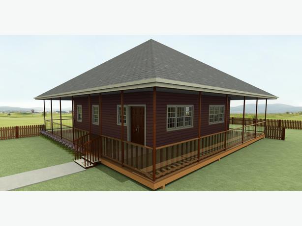 950 Bungalow House Plan Plan 10 0971 Central