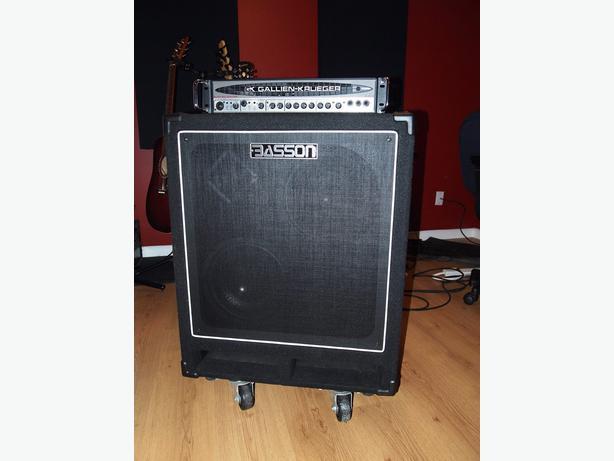 gallien krueger 700rb ii head 500w basson bass cabinet gloucester ottawa. Black Bedroom Furniture Sets. Home Design Ideas