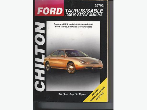 free ford taurus repair manual