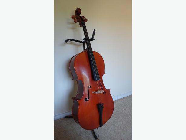 yamaha vc5 4 4 cello and hard case saanich victoria