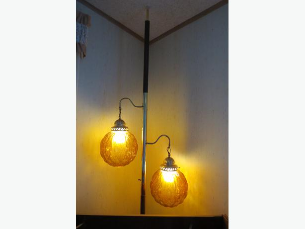pole lamp for sale extends from floor to ceiling. Black Bedroom Furniture Sets. Home Design Ideas