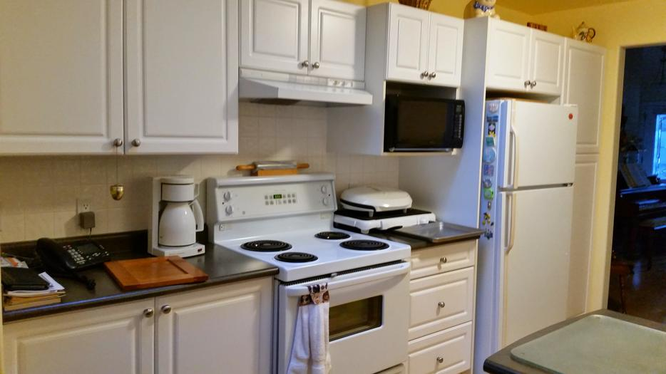 Used kitchen cabinets and tops north saanich sidney for Kitchen cabinets vernon bc
