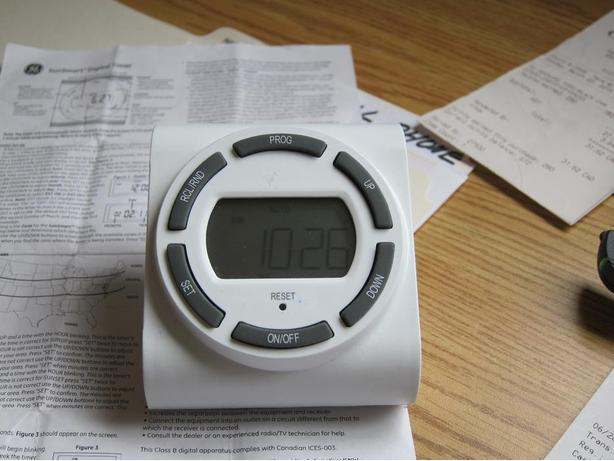 GE SunSmart Digital Timer