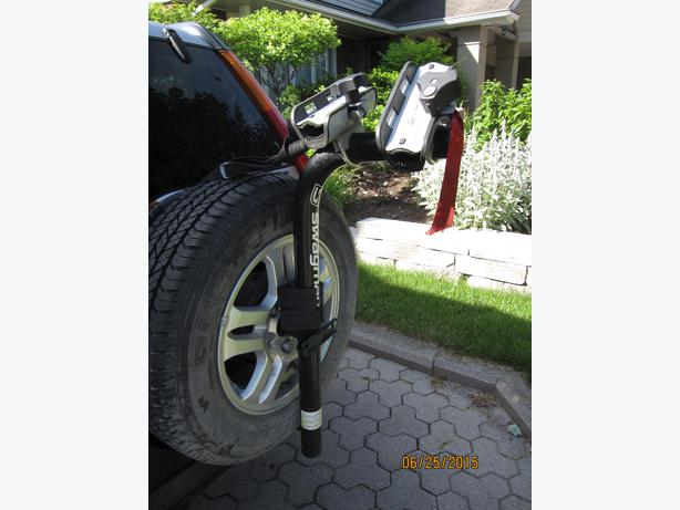 Spare Tire Mount Bicycle Carrier