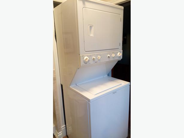 apartment size stackable washer and dryer rideau township ottawa