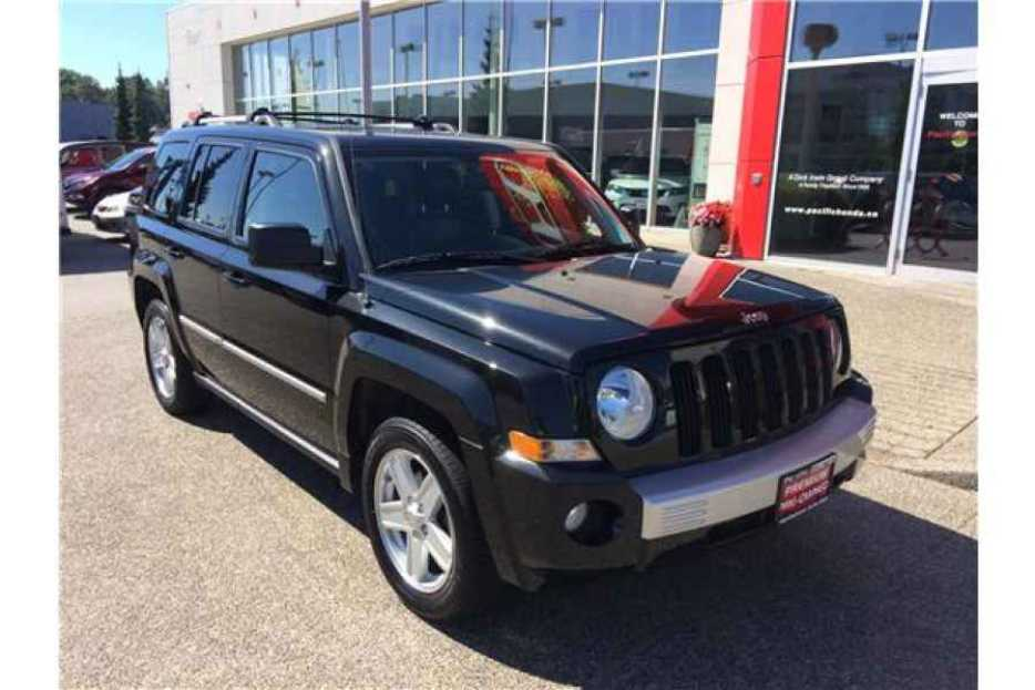2010 jeep patriot limited surrey incl white rock vancouver. Black Bedroom Furniture Sets. Home Design Ideas