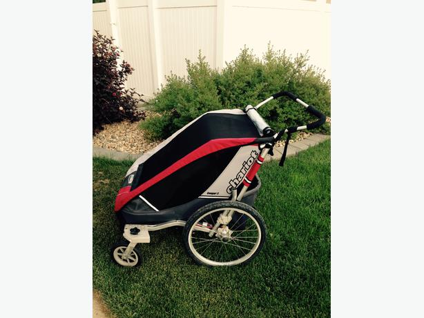 chariot cougar 2 double stroller south regina regina. Black Bedroom Furniture Sets. Home Design Ideas