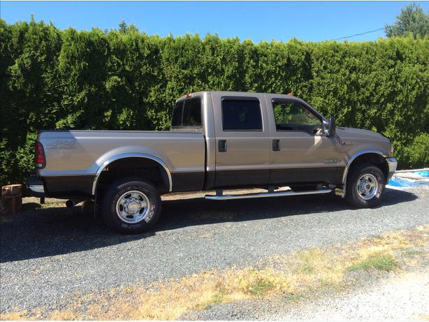 2002 ford f 350 lariat crew cab outside nanaimo nanaimo. Black Bedroom Furniture Sets. Home Design Ideas