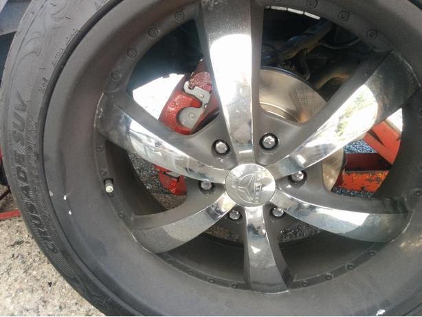 22inch wheels