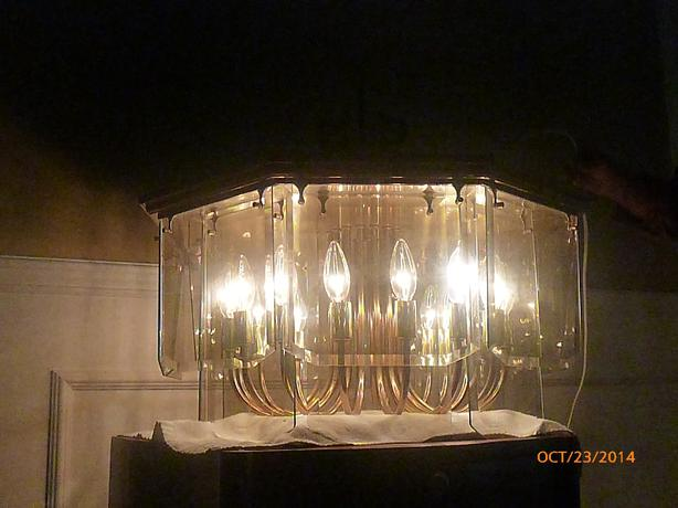 Used Foyer Chandelier : Foyer chandelier ceiling light crystal bay central