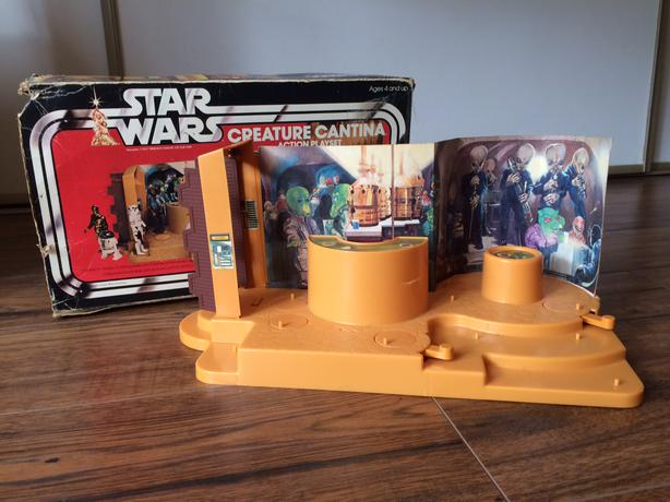 Vintage Star Wars Cantina (1979, Kenner)