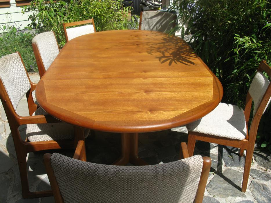 Reduced Danish Teak Dining table and 4 chairs Saanich  : 47739901934 from www.usedvictoria.com size 934 x 700 jpeg 124kB