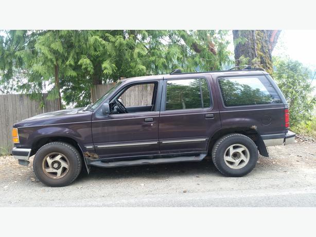 1993 Ford Explorer Xlt 4x4 Outside Nanaimo Parksville