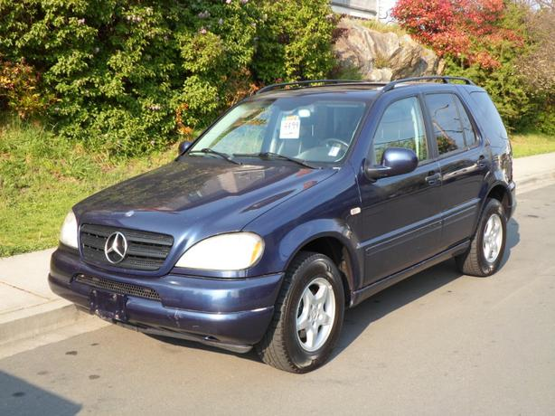 2001 mercedes benz ml320 auto loaded import victoria for 2001 mercedes benz ml320 radio