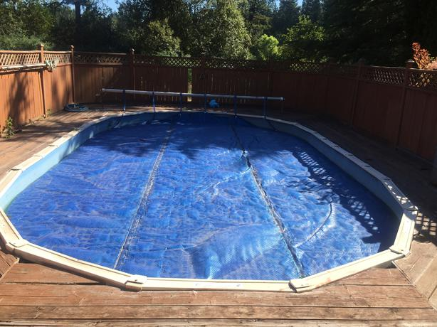 Dismantling above ground pool all accessories for sale for Above ground pools for sale