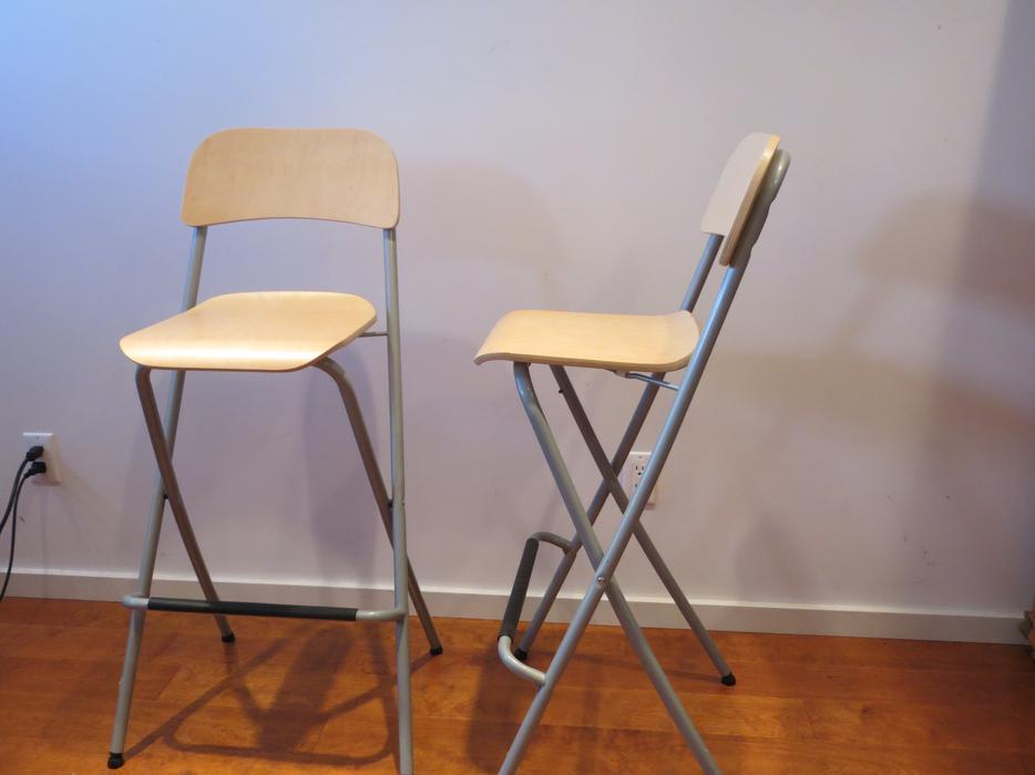Ikea bar stools north saanich sidney victoria mobile for Folding bar stools ikea