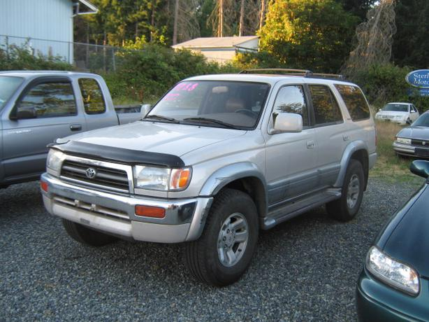 1997 toyota 4 runner ltd trade in special outside nanaimo. Black Bedroom Furniture Sets. Home Design Ideas