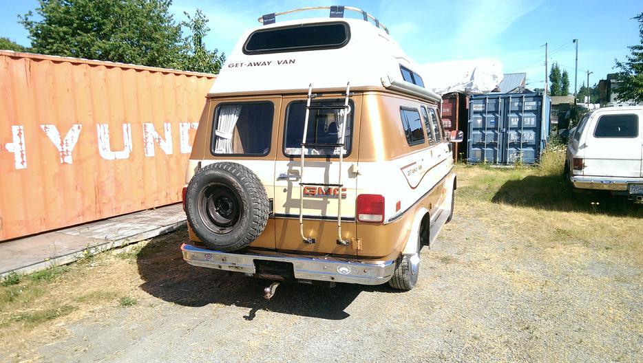 Obo 1986 GMC GET AWAY Camper Van Duncan, Cowichan