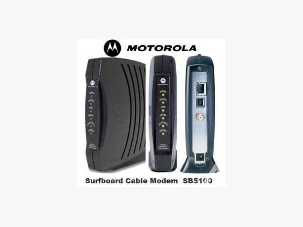 Motorola Surfboard SB5100 Cable Modem