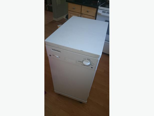 general electric portable dishwasher 18 inch apartment size west shore