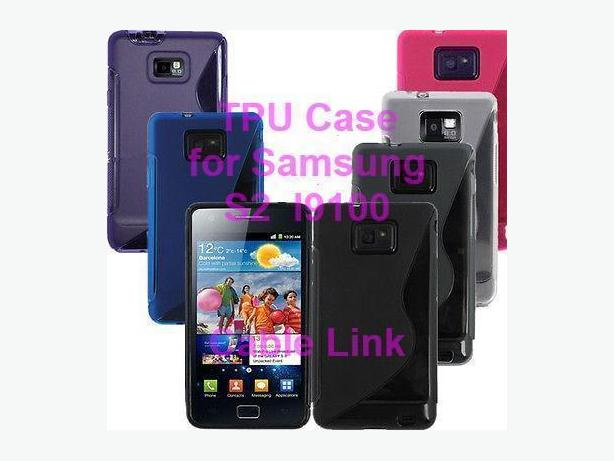 S Line TPU Case for Samsung Galaxy S2 I9100