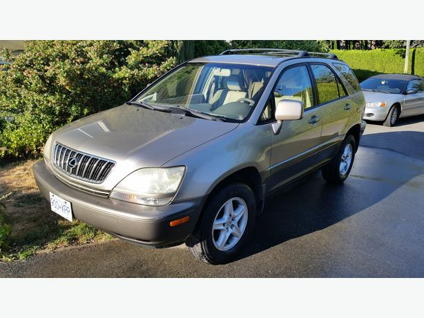 2002 lexus rx300 awd luxury for sale outside nanaimo parksville qualicum beach. Black Bedroom Furniture Sets. Home Design Ideas