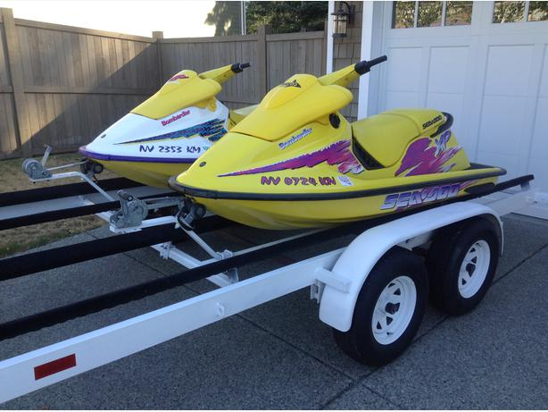 1995 1996 seadoo xp trailer and more for sale maple bay cowichan. Black Bedroom Furniture Sets. Home Design Ideas