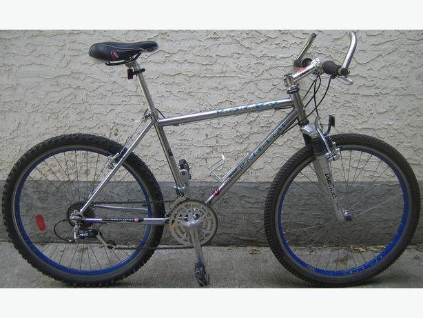 Raleigh - Rocky with 26 inch tires