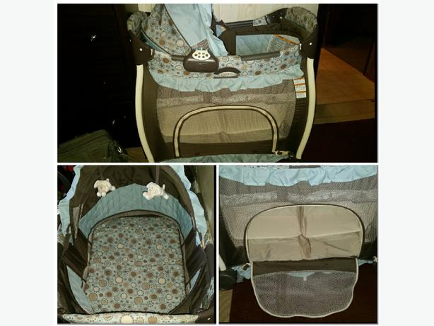 graco bedroom bassinet. graco bedroom bassinet ( travel size ) euc o
